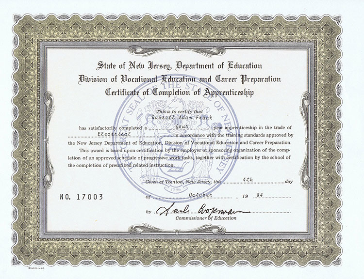 New Jersey Department Of Education Certification Status - Best ...